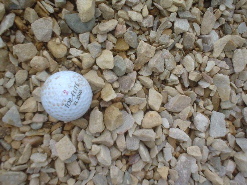 Brown Crusher Run Stone