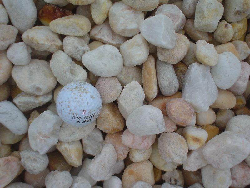 Large White Stone